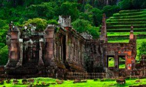 2 FEVRIER : Champasak – Pakse – Siem Reap  Transfert à l'aéroport de Pakse et arrivée à Siem Reap. Installation à l'hôtel Shinta Mani Shack.